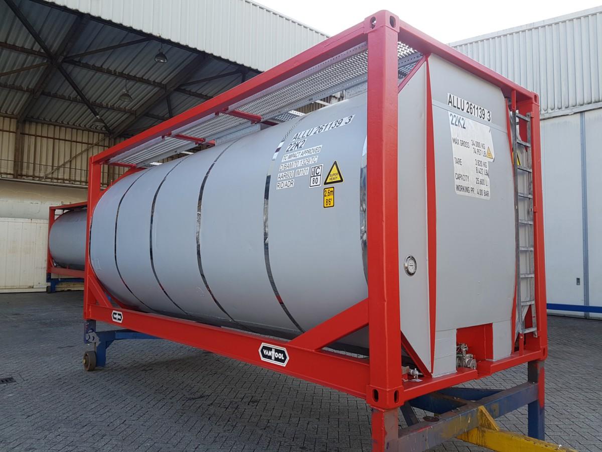 Reparatie tank container 01